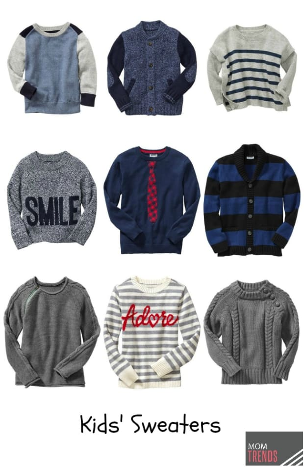 Fall Sweaters For Kids Momtrends