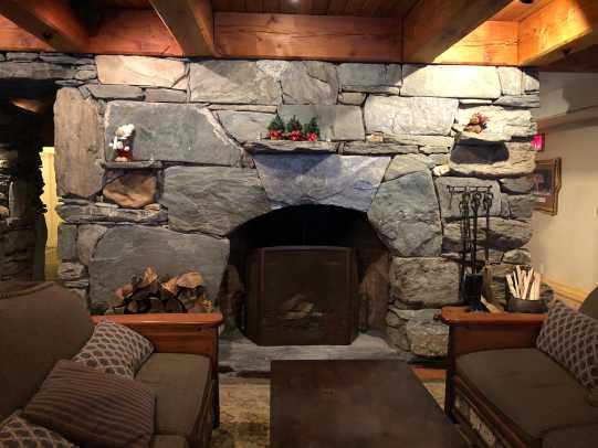Pitcher Inn Fireplace