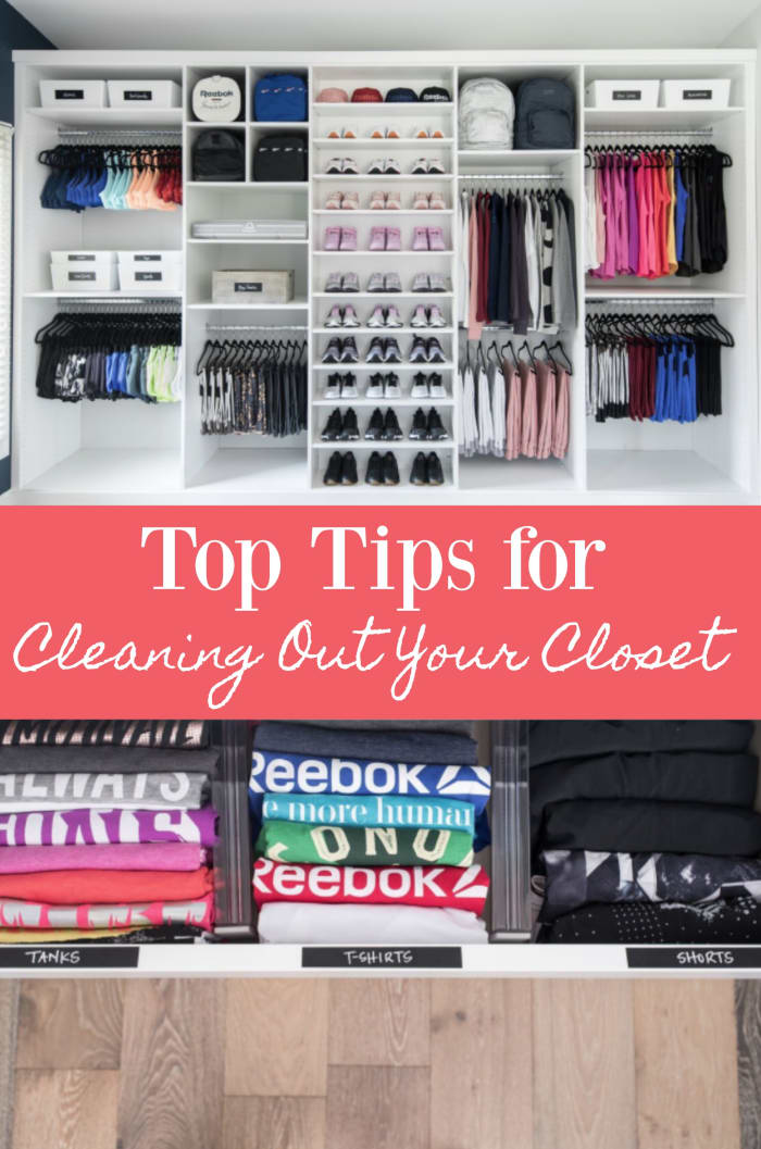 Top tips for cleaning out your closet momtrends - Cleaning out your closet ...
