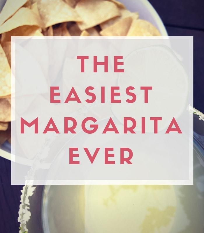 The Easiest Margarita Ever
