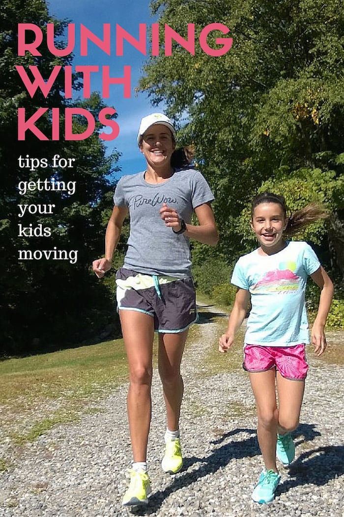 Tips for Running with Tweens and Kids