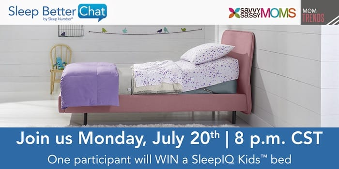Sleep Number Twitter Chat - MomTrends
