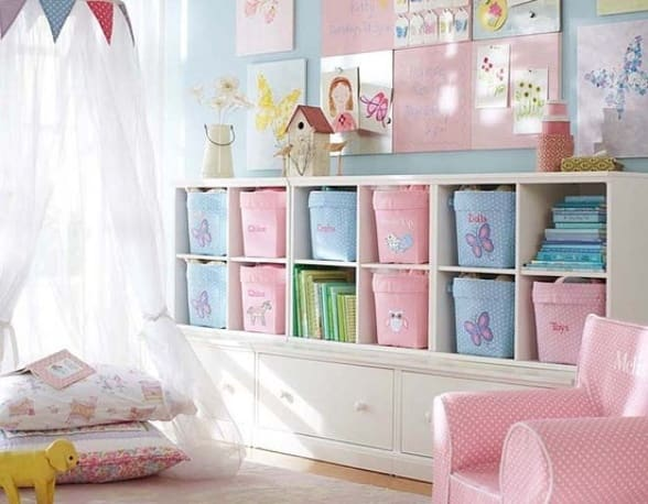 inspiring organization ideas for kids momtrends. Black Bedroom Furniture Sets. Home Design Ideas