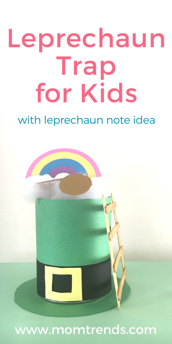 Make this Leprechaun Trap for Kids to set out the night before St. Patrick's Day. The kiddos will enjoy waking up to the leprechaun's tricks.