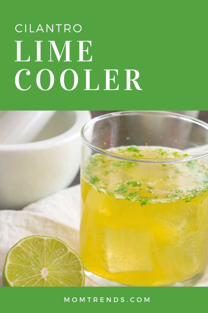 Cilantro Lime Cooler Cocktail