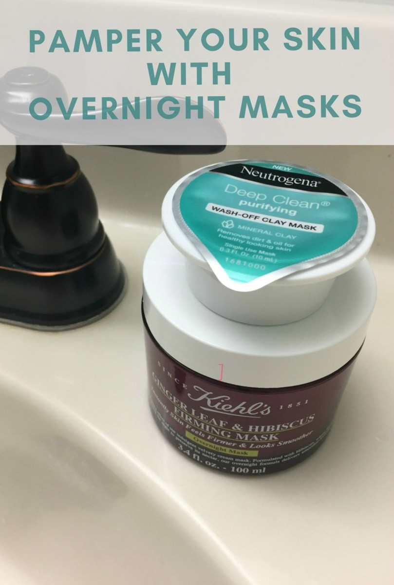 pamper yourself with overnight masks