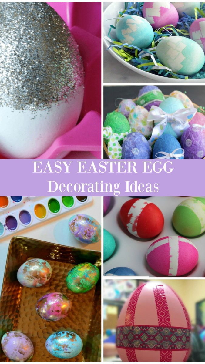 easy easter egg decorating ideas to try