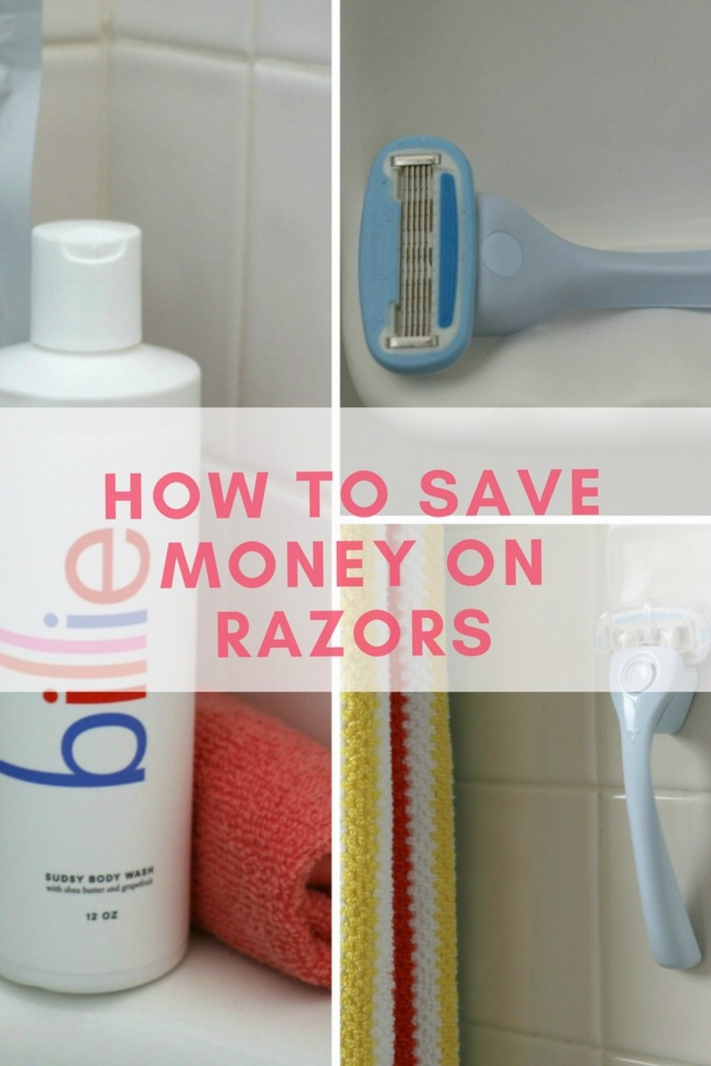 how to save money on razors