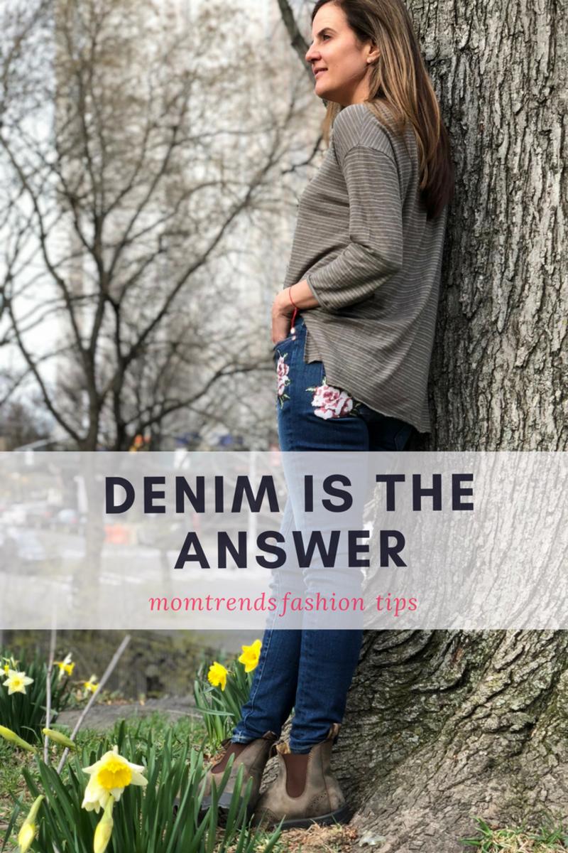 Denim styling tips