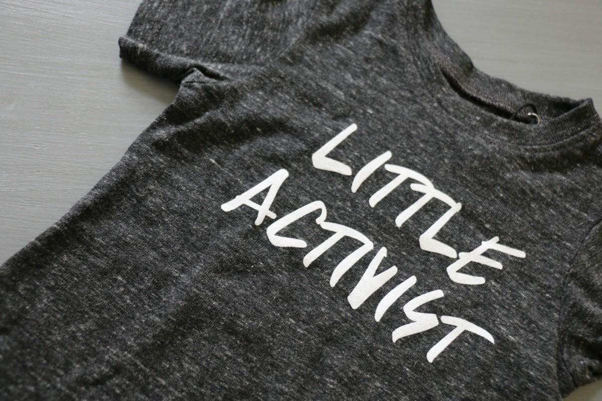 little activist tee