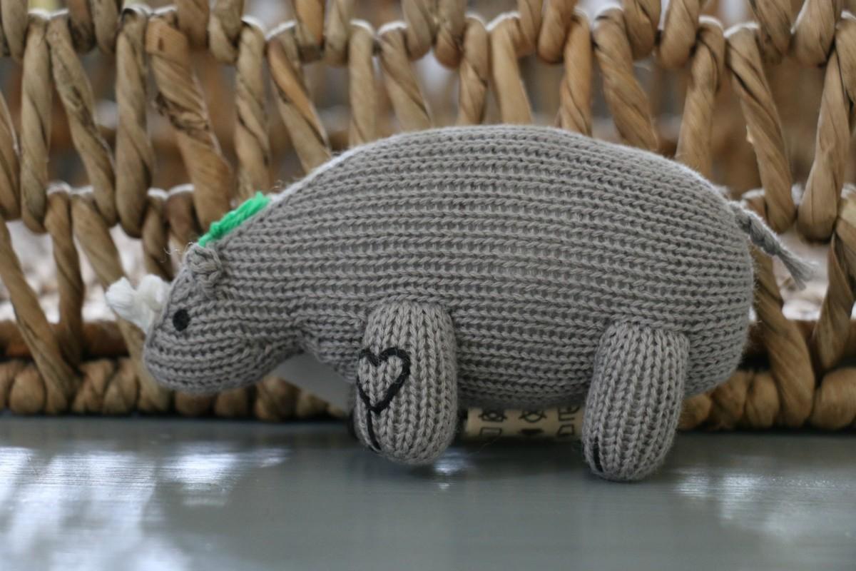 organic rhino rattle
