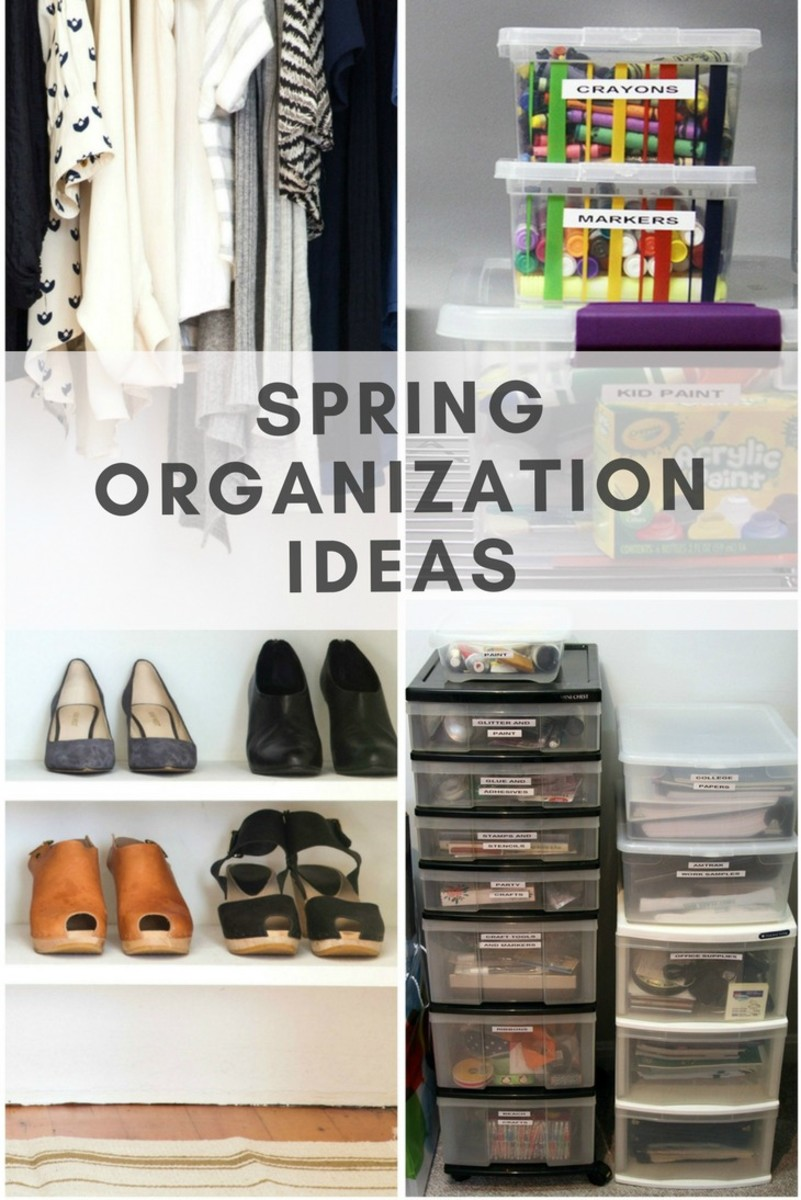 best spring organization ideas