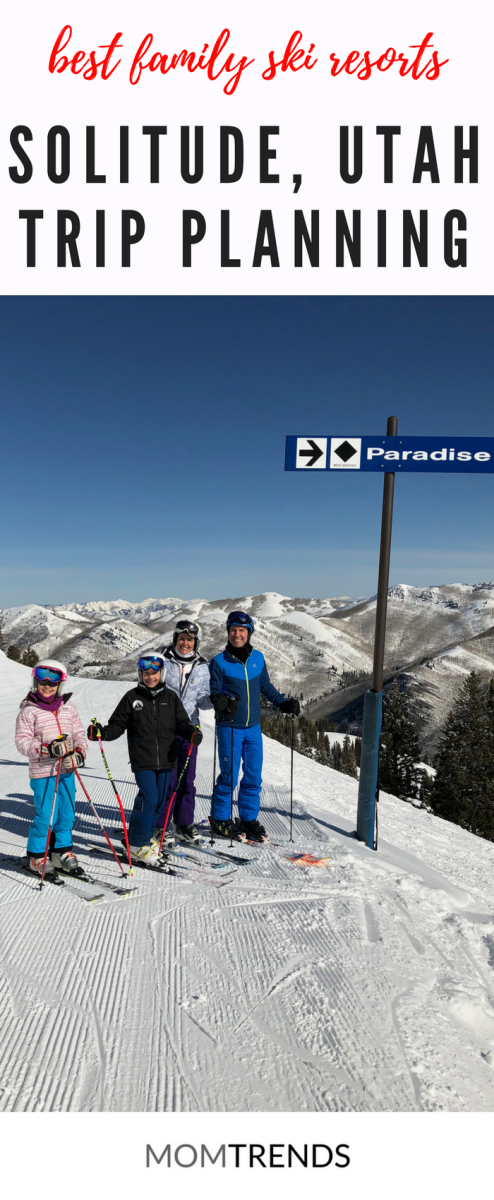 Family Time at Solitude Ski Resort