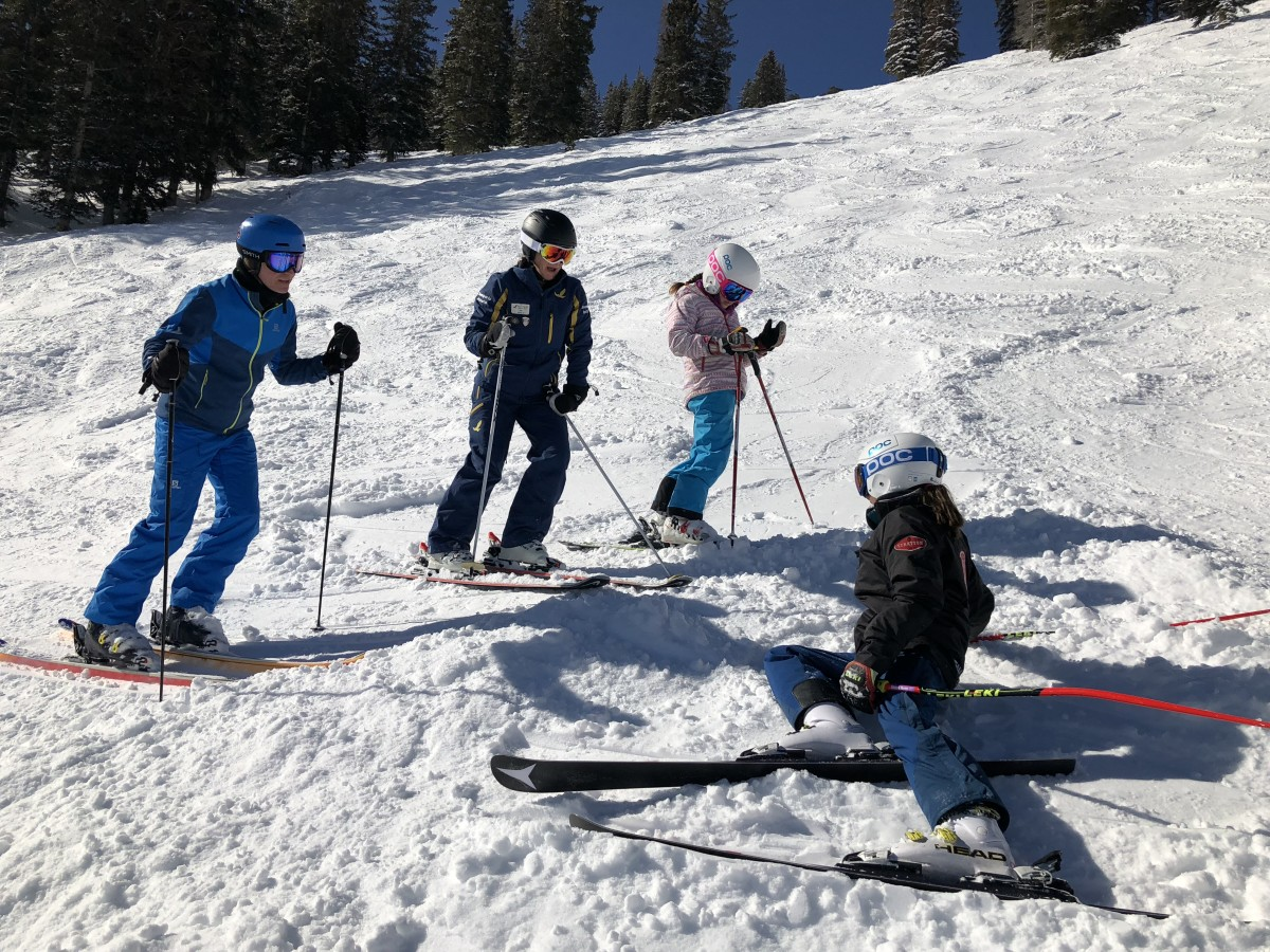 ski lessons at solitude