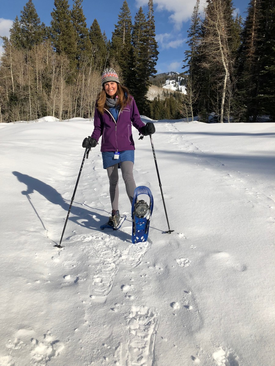 snowshoeing at solitude utah
