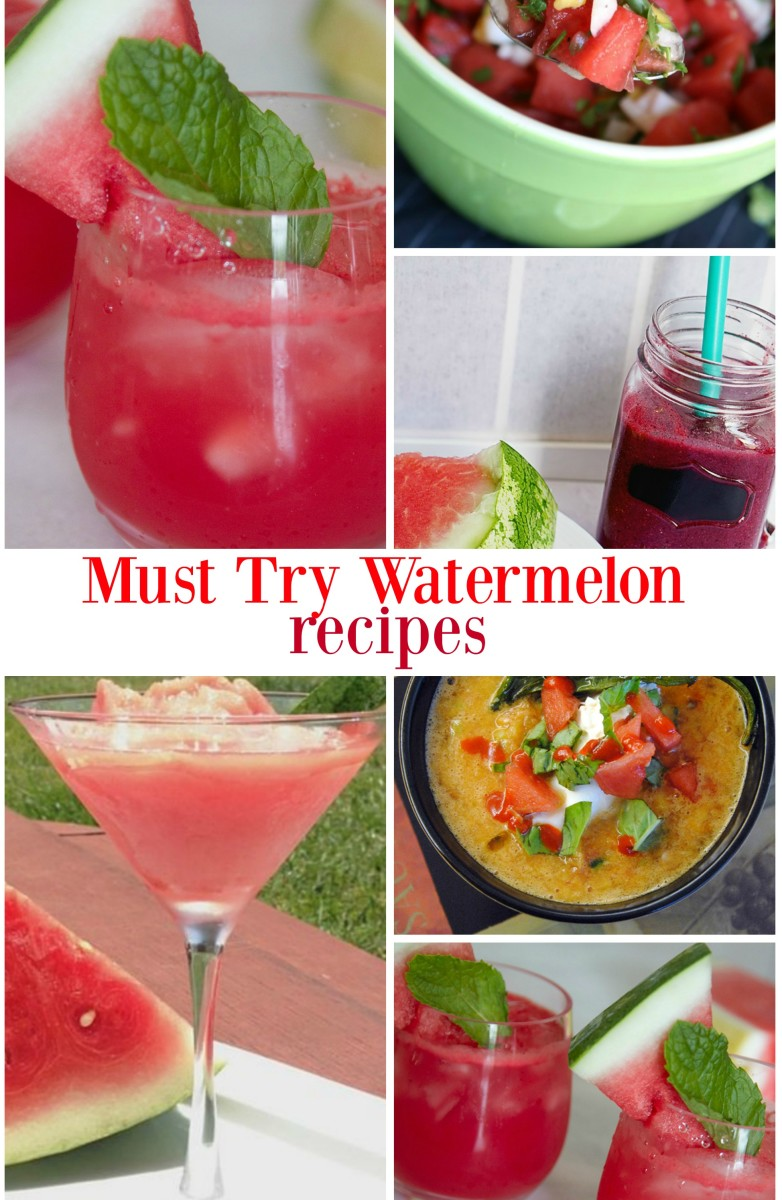 must try watermelon recipes