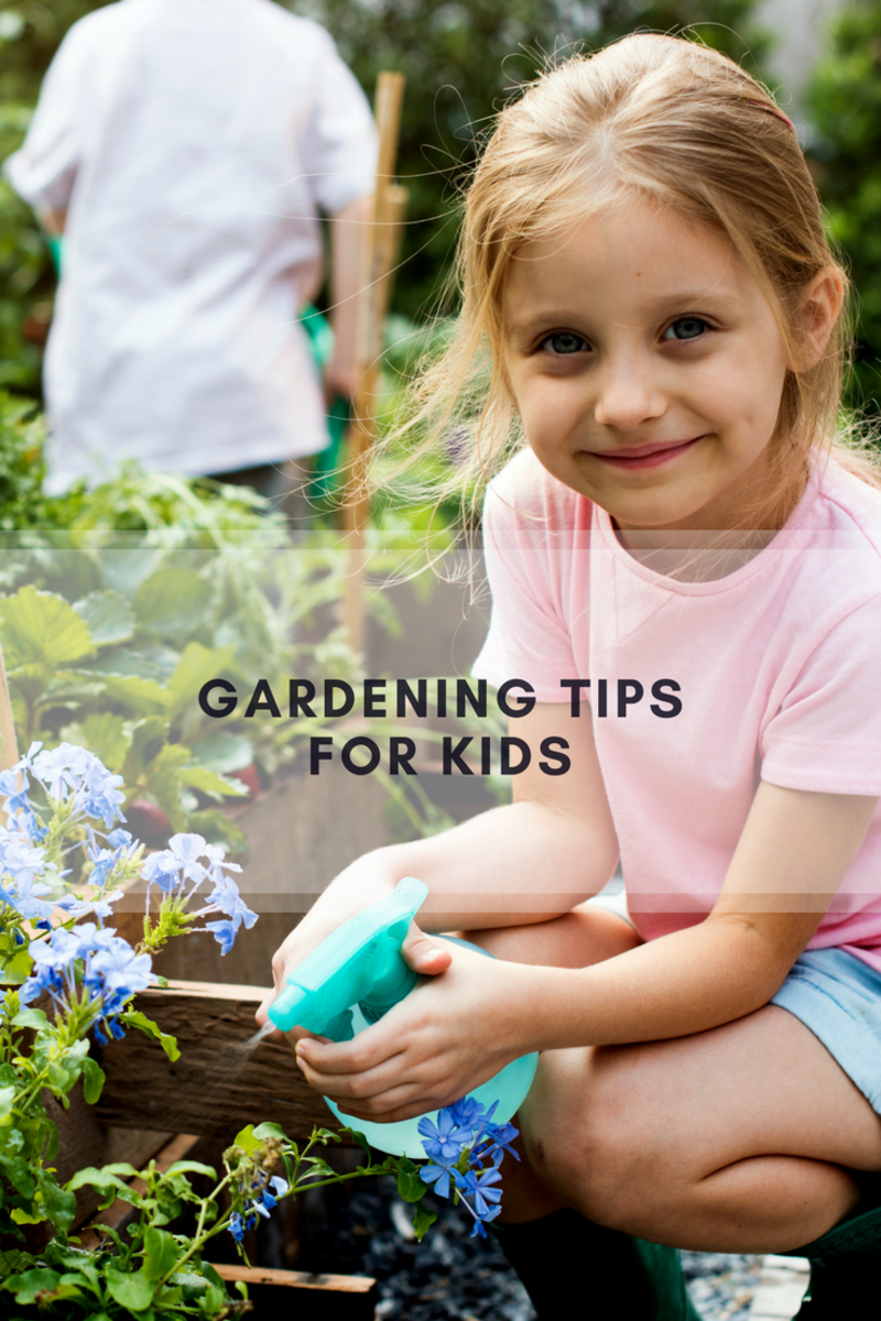 gardening tips, tips for gardening, kids garden, bushel and berry, bloomers island, kids garden