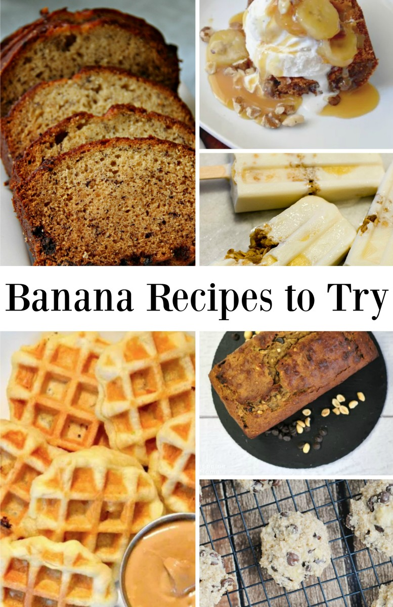 ways to use up ripe bananas