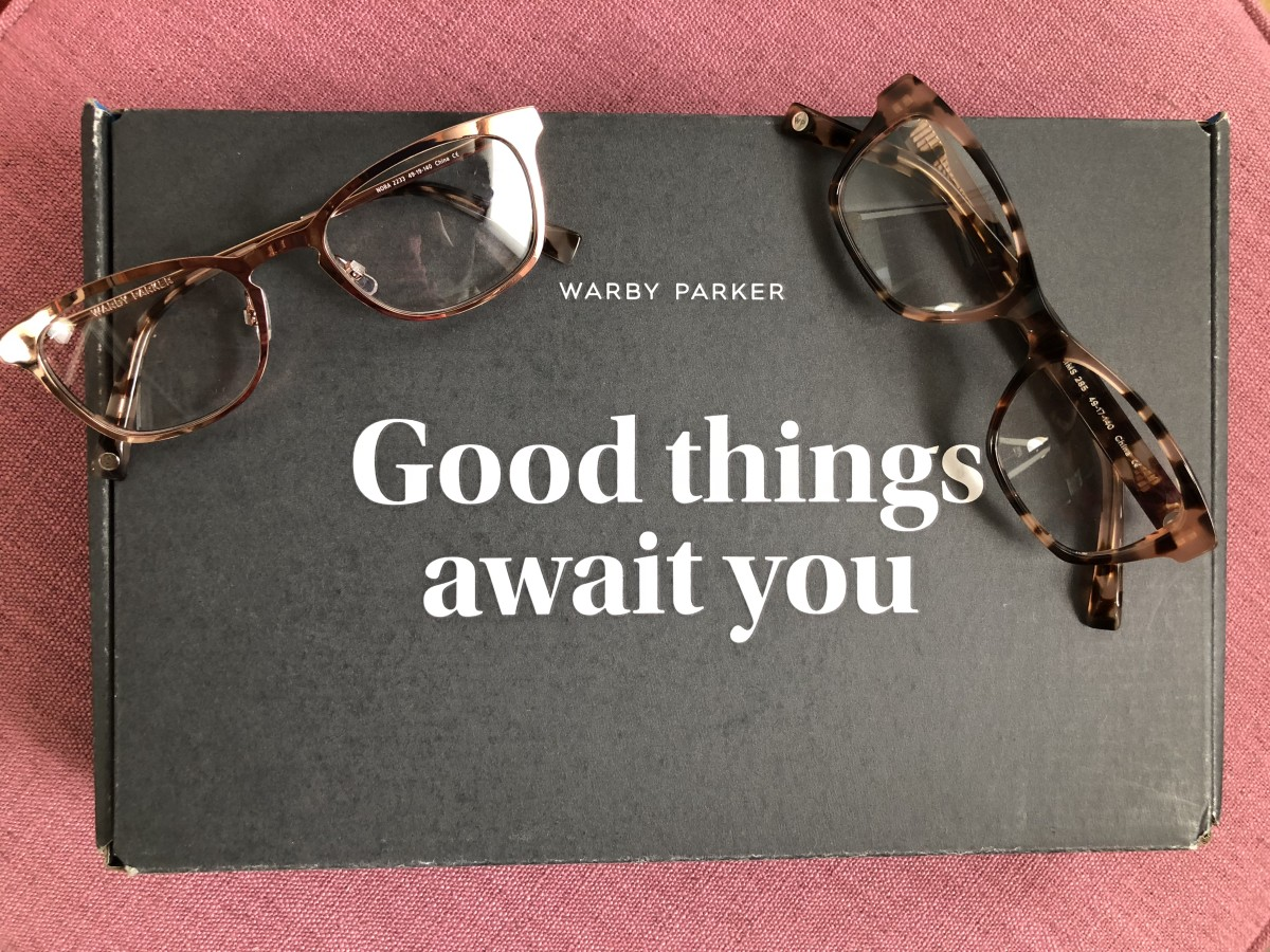 Warby Parker 5 Pairs, 5 Days program