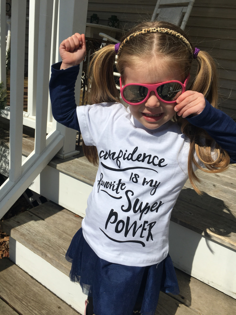 confidence, raising confident children, beyond differences, kid box, social change, tips for raising confident children, self confidence in kids, support confidence, be confident, confident kids, confidence is my super power shirt