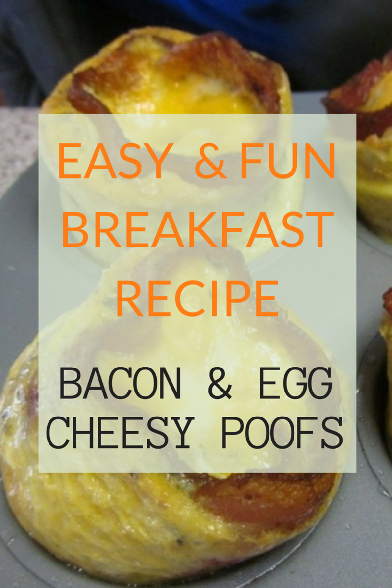 Bacon & Egg Cheesy Poofs