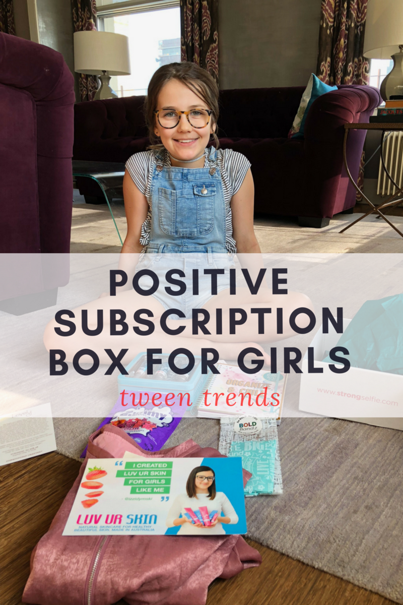 Positive Subscription Box for Girls
