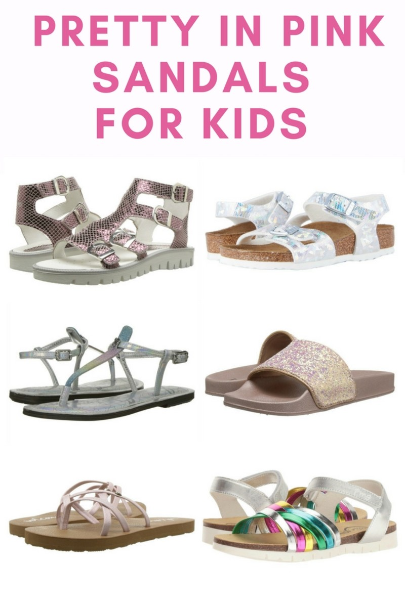 pink sandals for girls