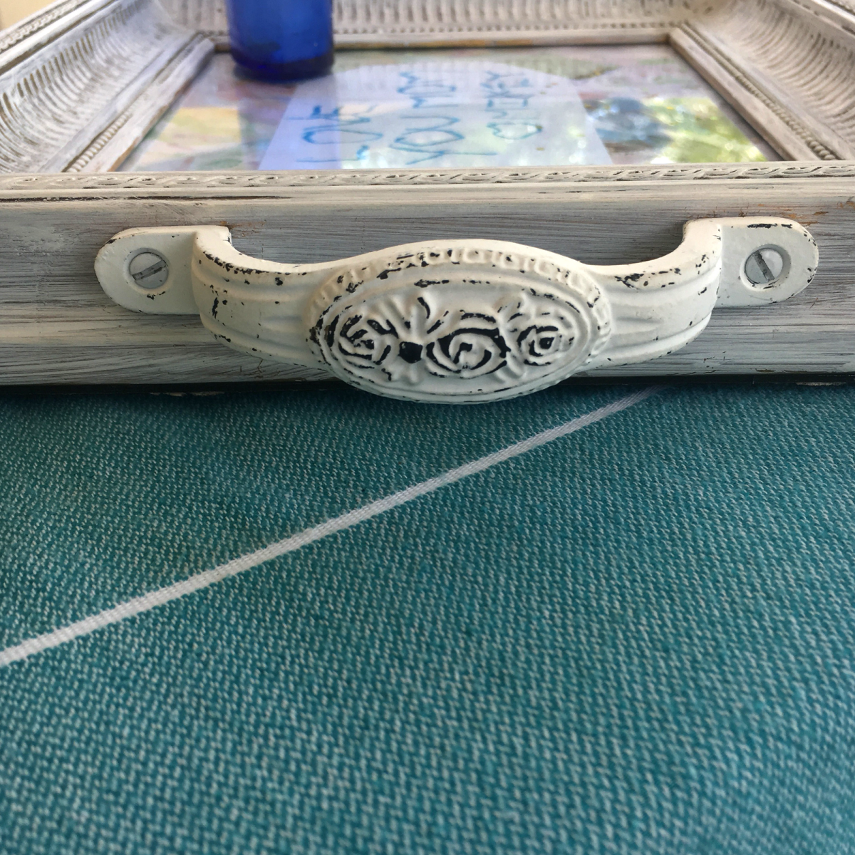 DIY Mother's Day Serving Tray - Handle
