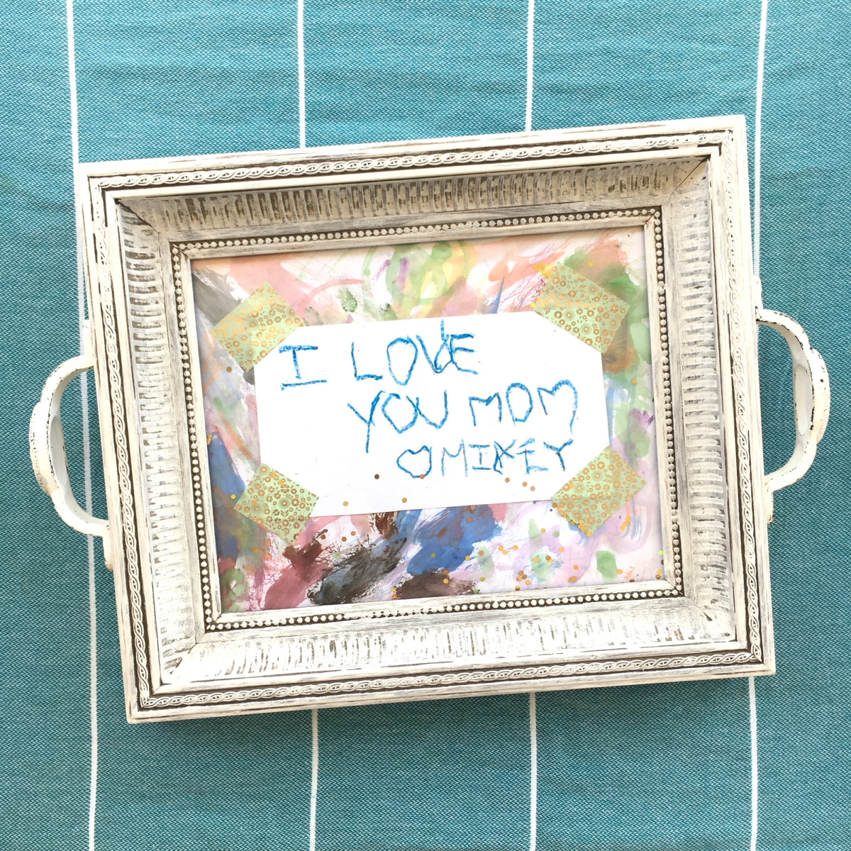 DIY Mother's Day Serving Tray