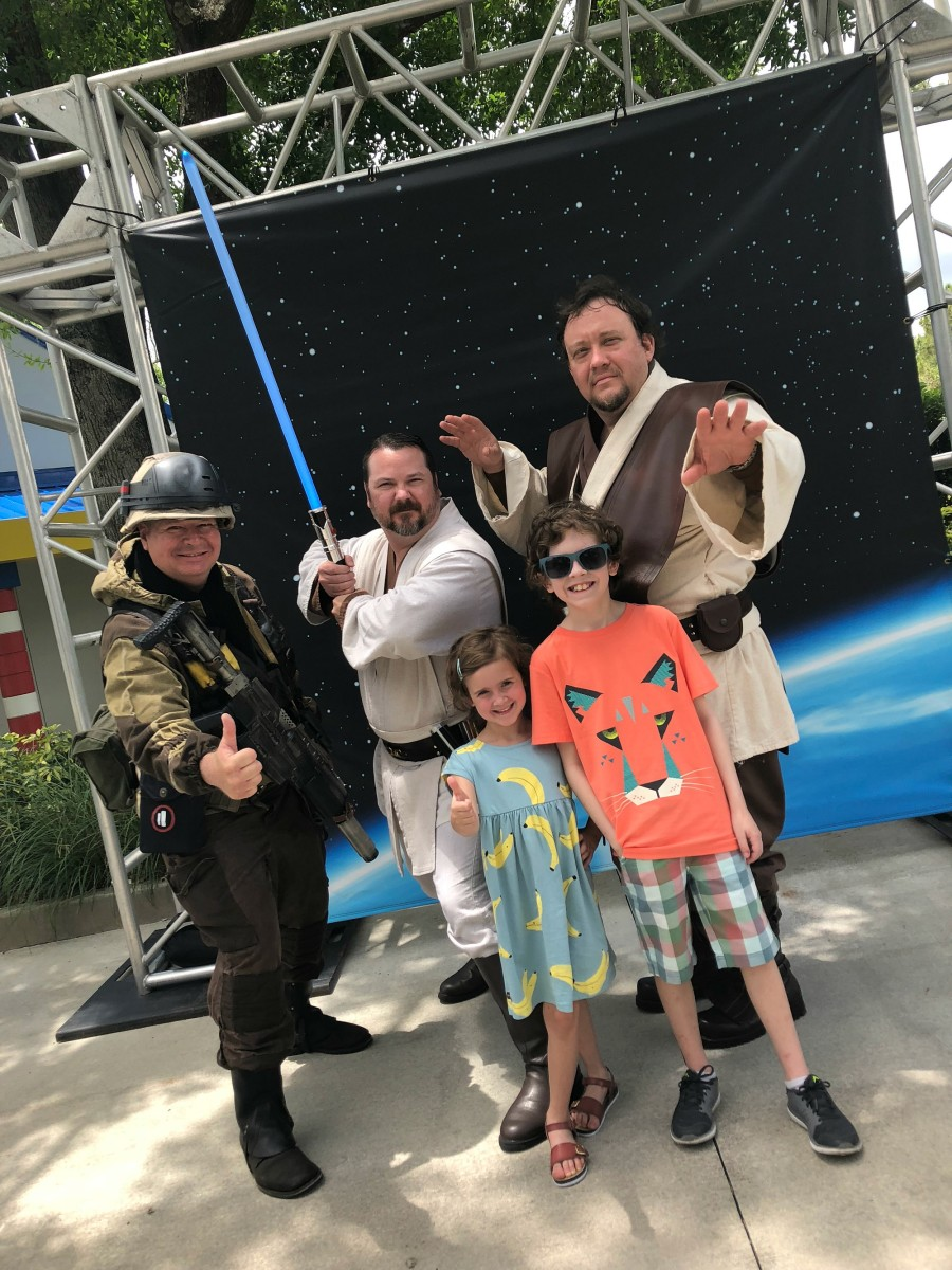 star wars characters meet and greet