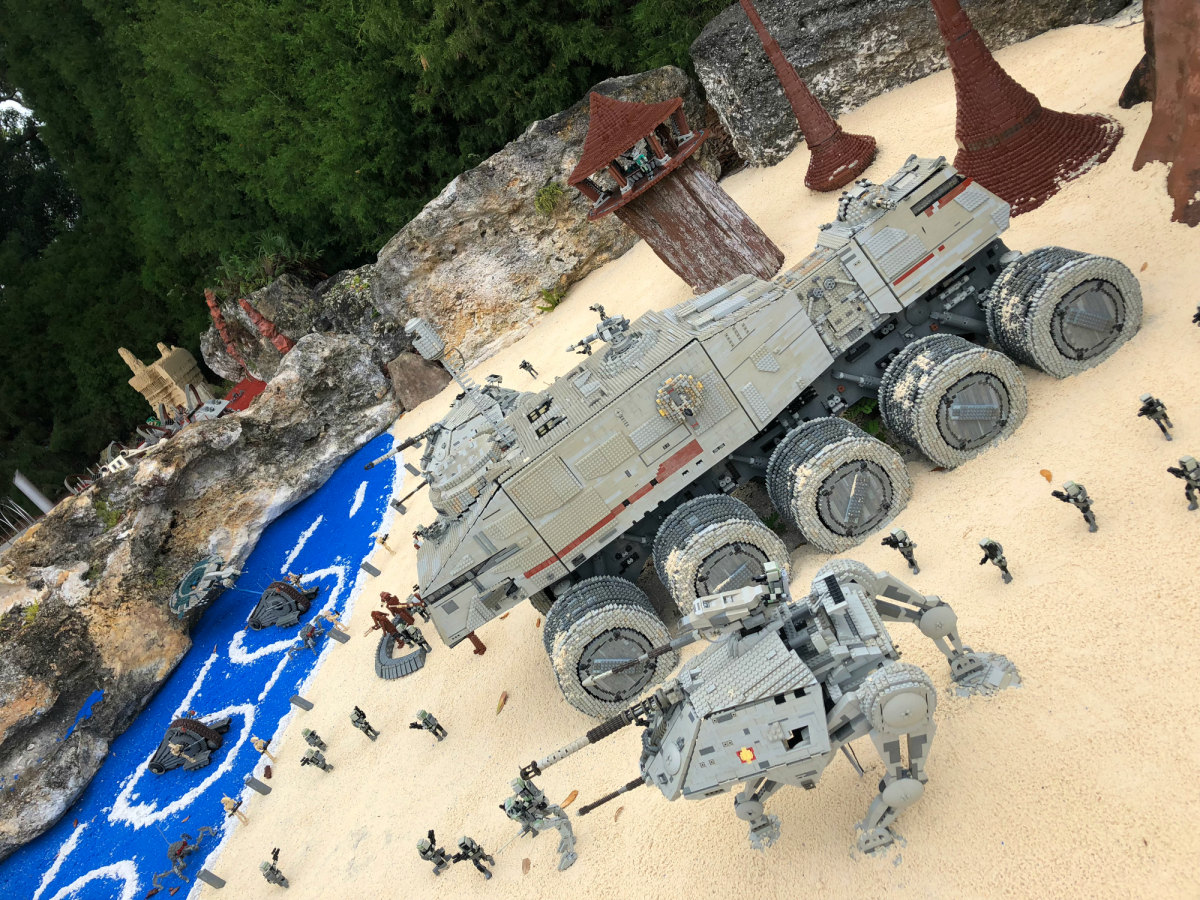 lego star wars build