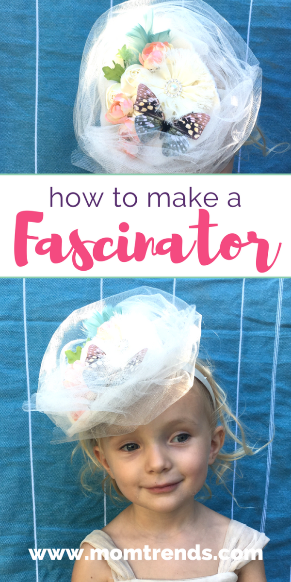 We are making pretty fascinators. Learn how to make a fascinator too! Just in time for the royal wedding! It's so simple and so fun to do!