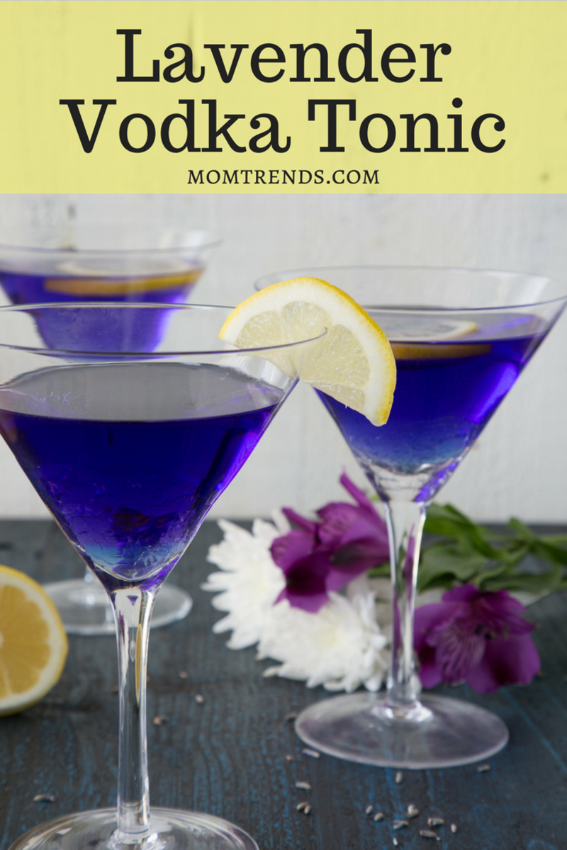 Lavender Vodka Tonic