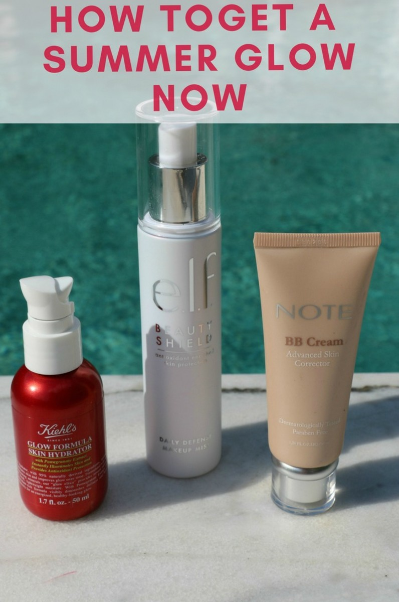 how to get a summer glow now