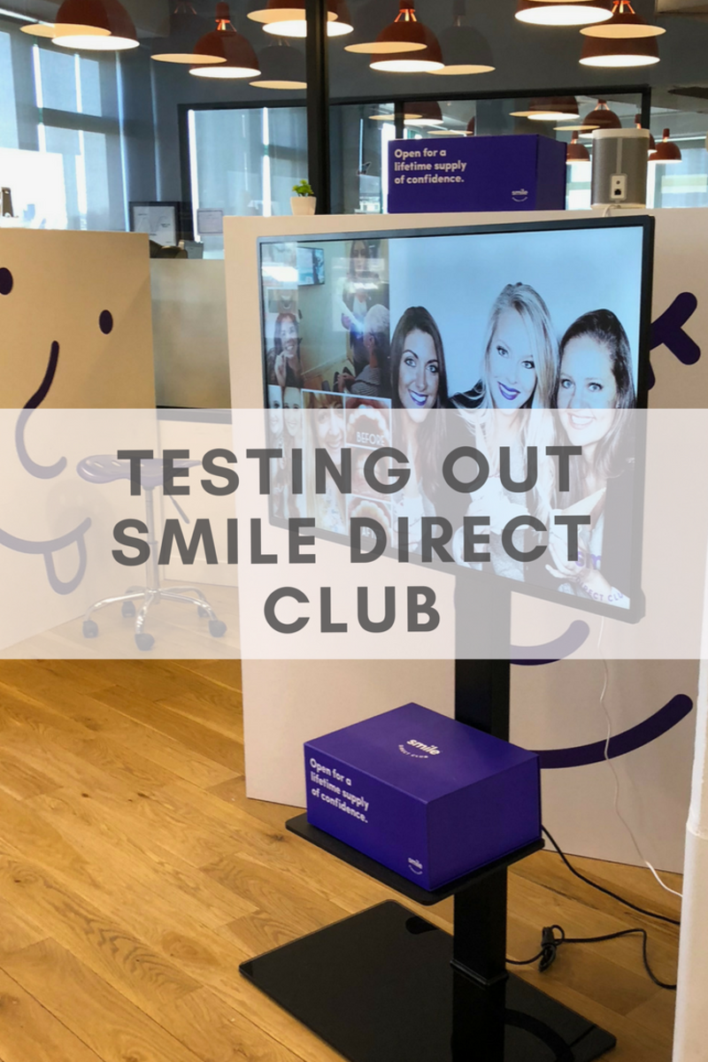 Testing out Smile Direct Club