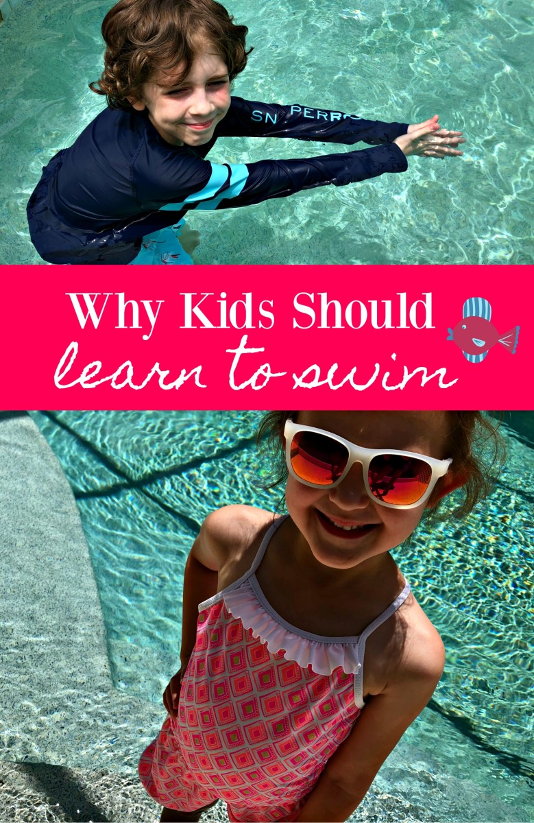 why kids should learn to swim