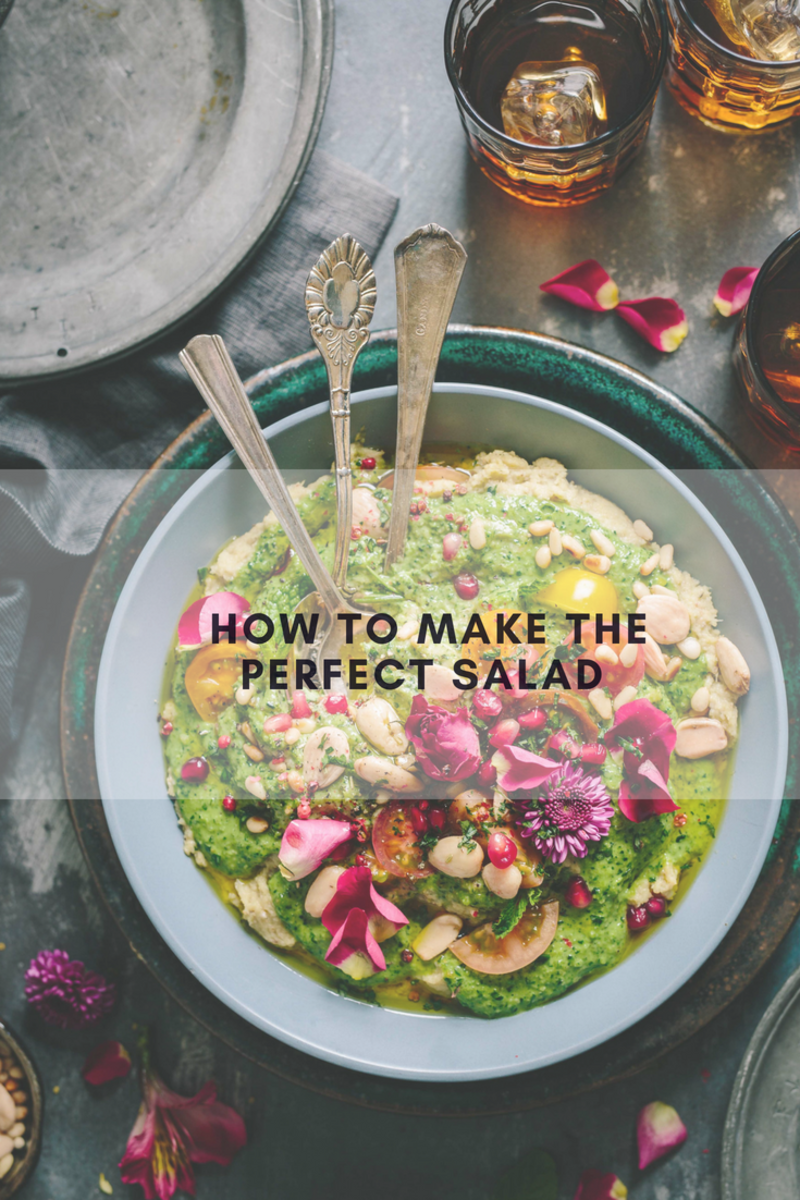 how to make a salad, salad month, how to make a green salad, salad, make salad at home, DIY salad, how to make the perfect salad, salad guide, guide to making your own salad