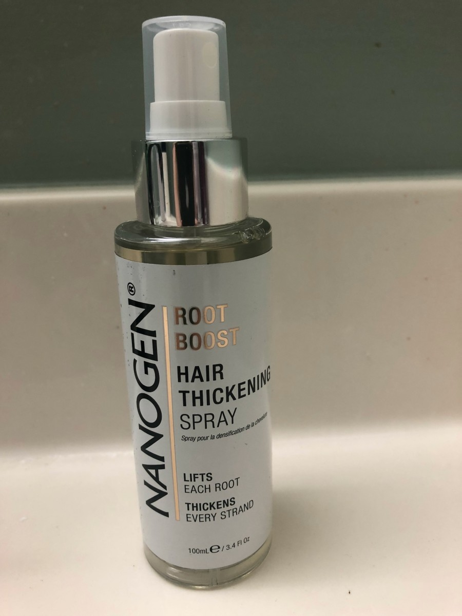 hair thickening spray