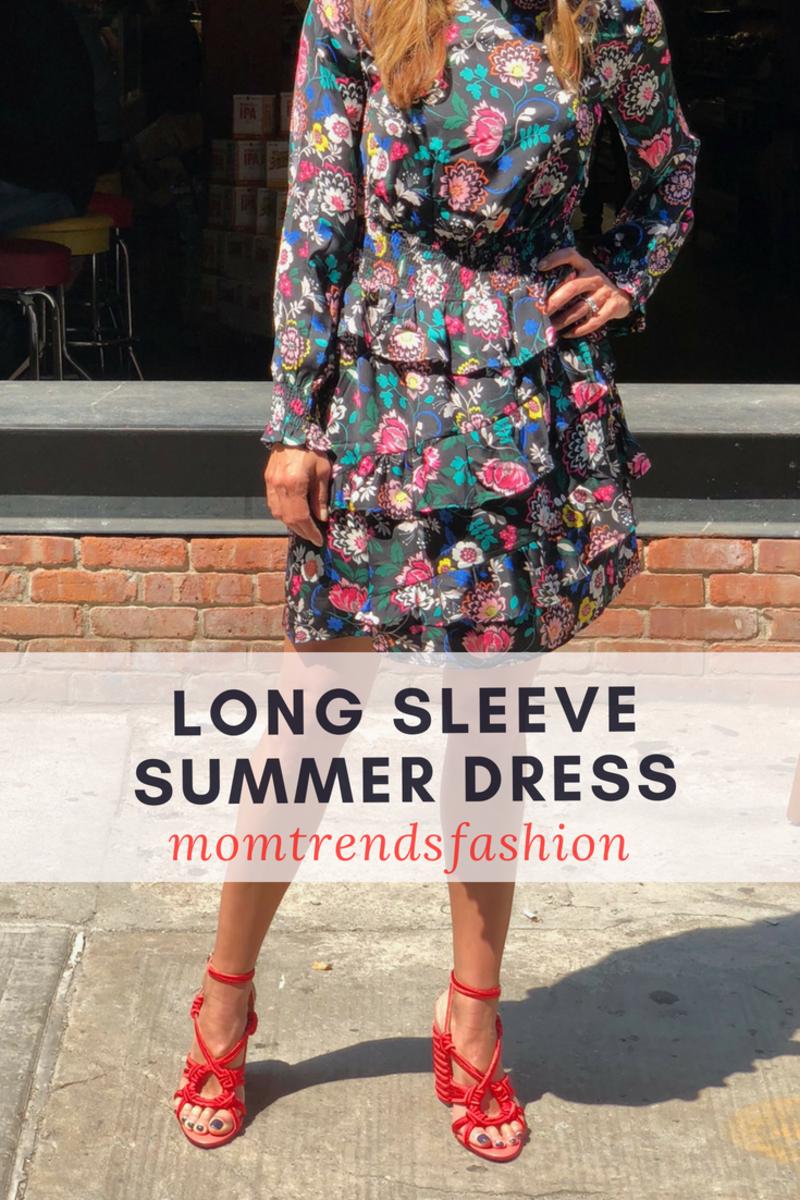 Long sleeve Summer Dress