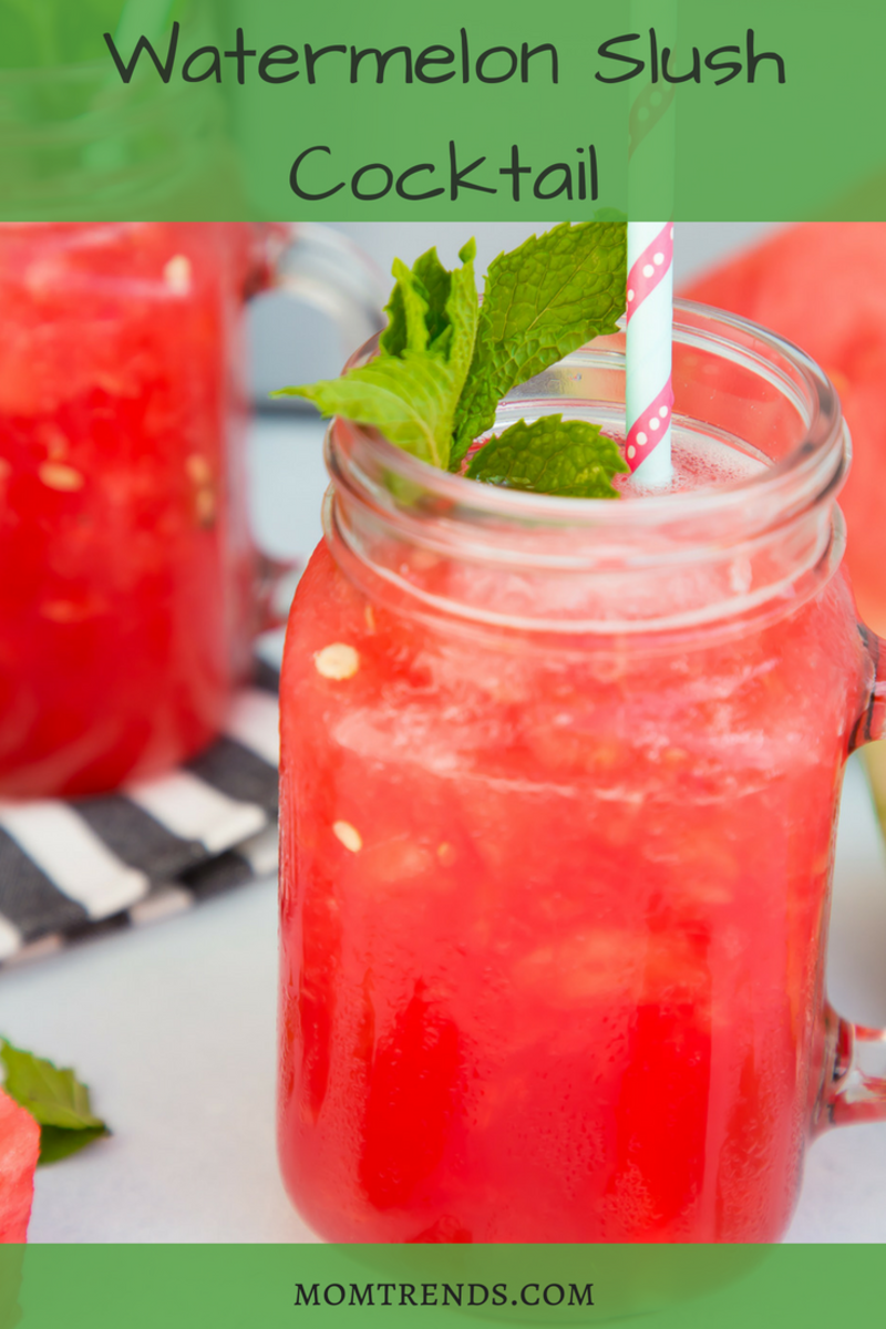Watermelon Slush Cocktail