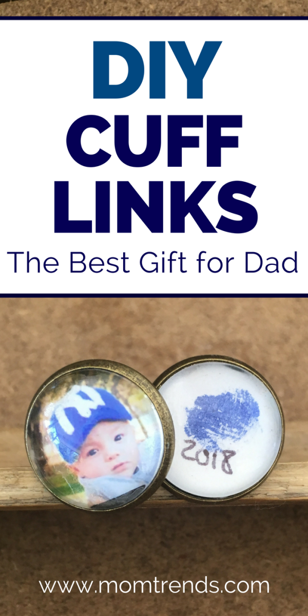 DIY Cuff Links - The Best Gift for Dad - Pinterest