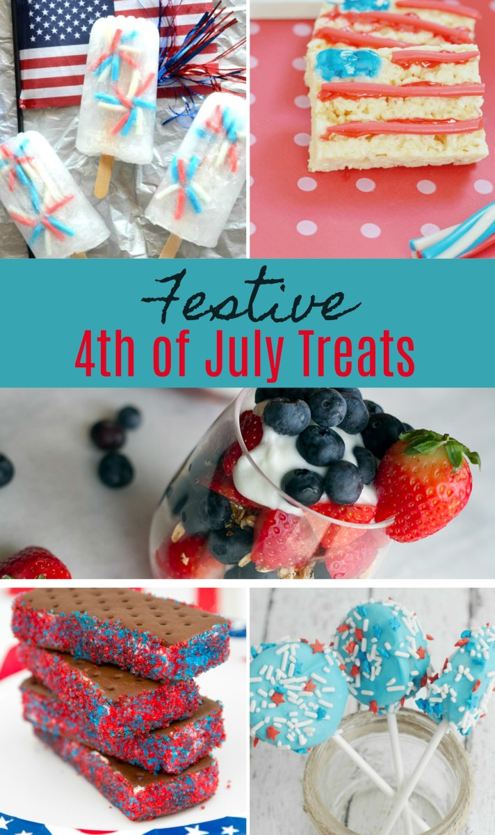festive fourth of july treats