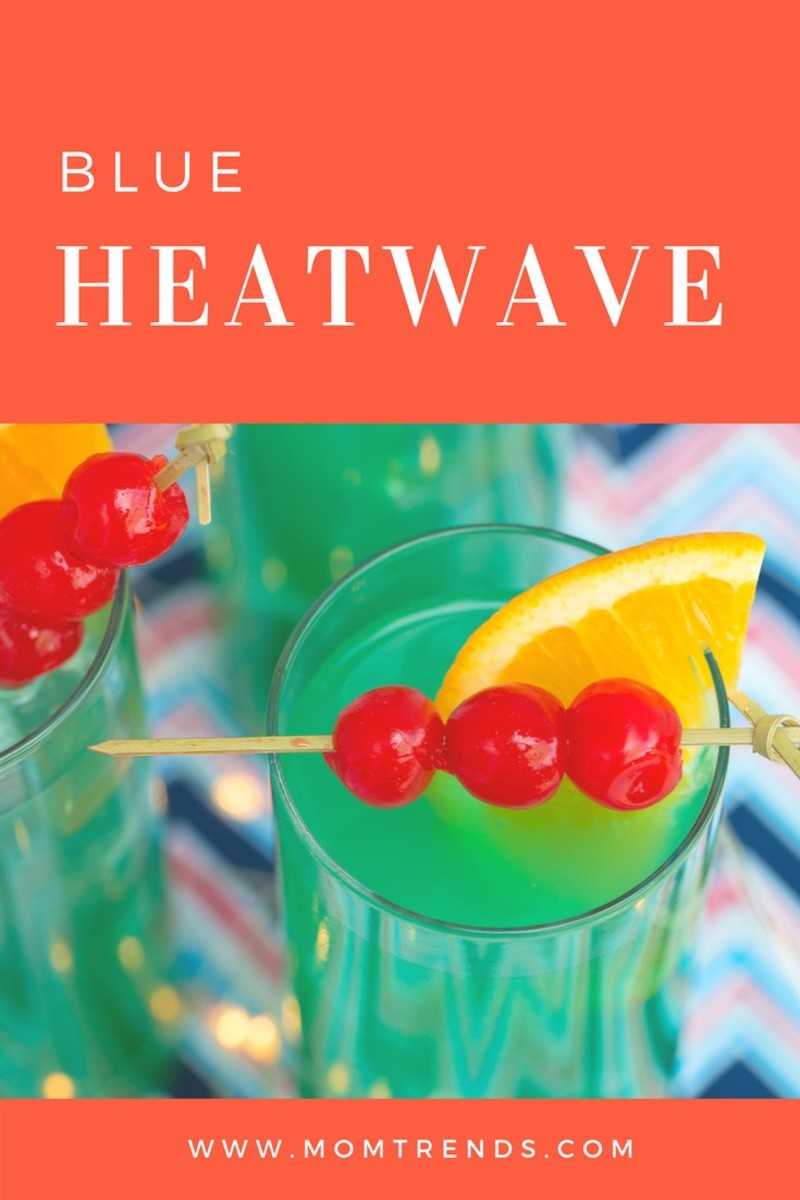 blue heat wave drink