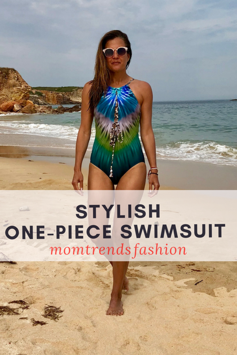 Stylish One-Piece Swimsuit to Flatter