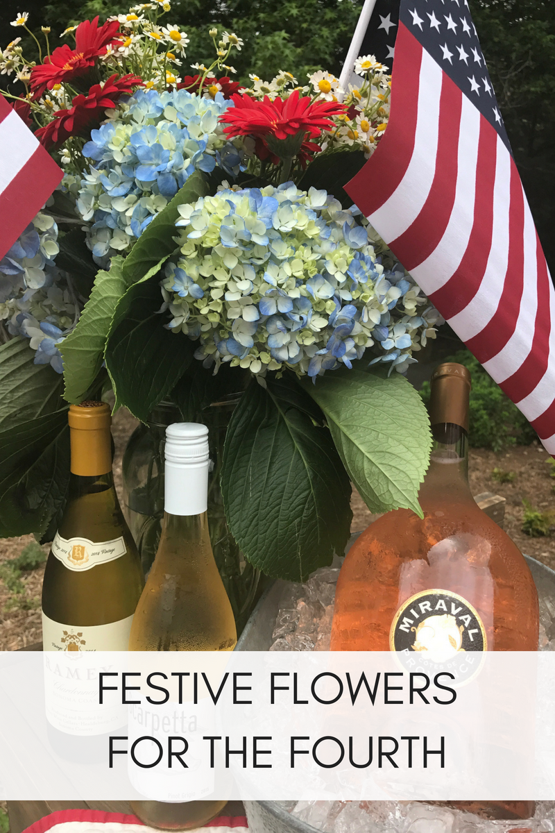 FESTIVE FLOWERS FOR THE FOURTH