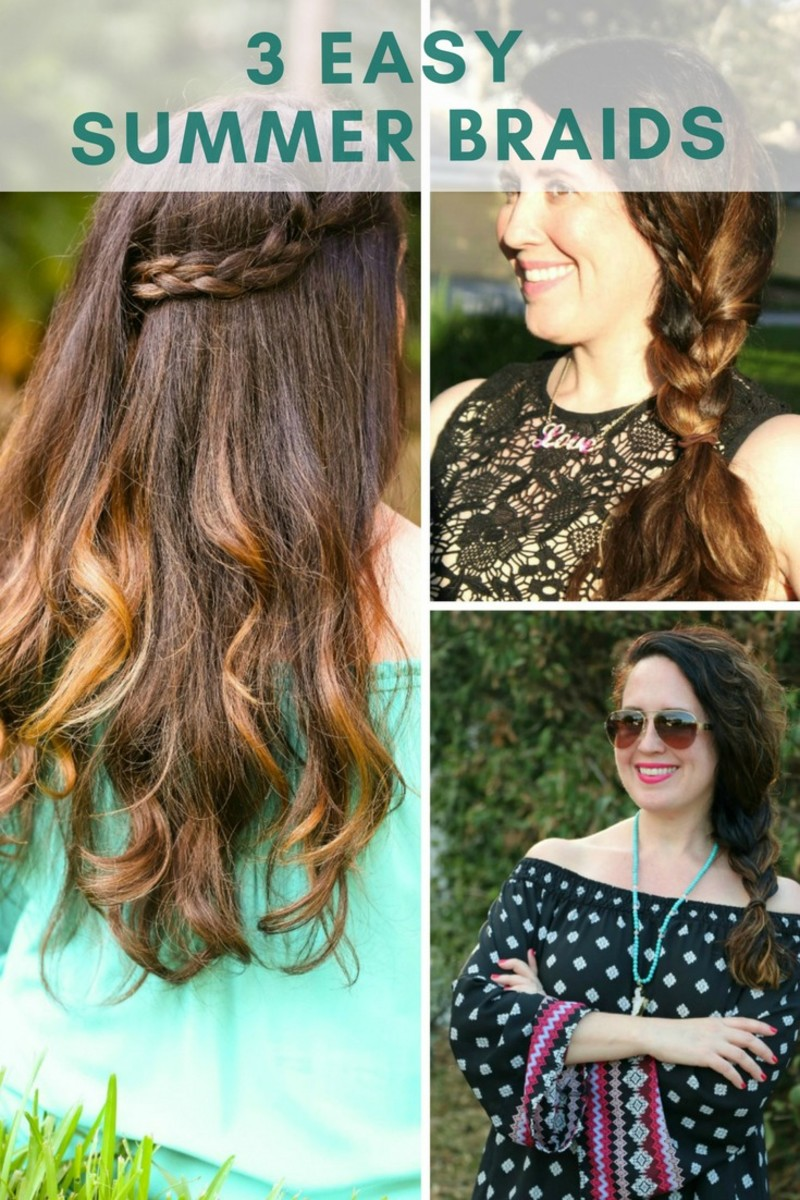 easy summer braids to try