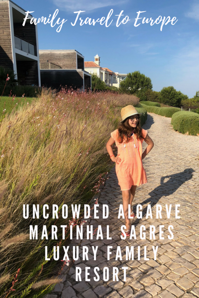 Uncrowded Algarve at Martinhal Sagres Luxury Family Resort
