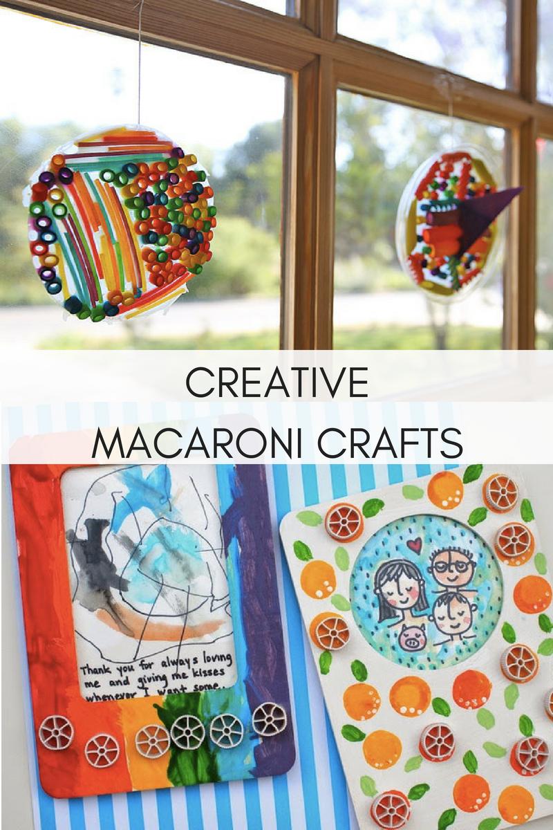 CREATIVE MACARONI CRAFTS