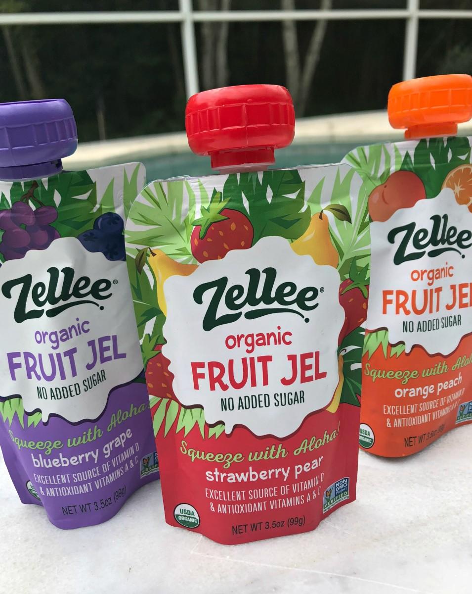 zellee organic fruit jel