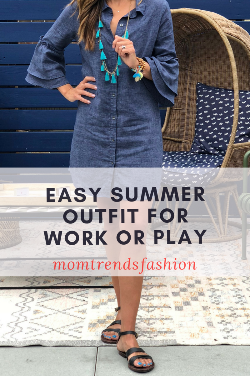 Easy Summer Outfit Work Play